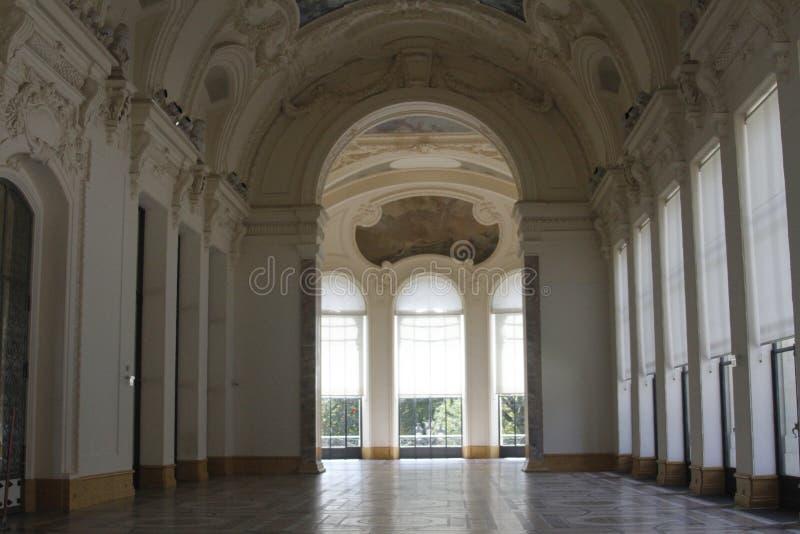À l'intérieur du musée, Frances de Paris images stock