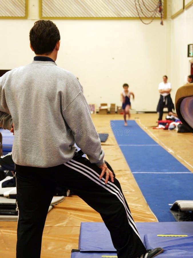 Download À la gymnastique image stock. Image du exercice, lifestyle - 89767