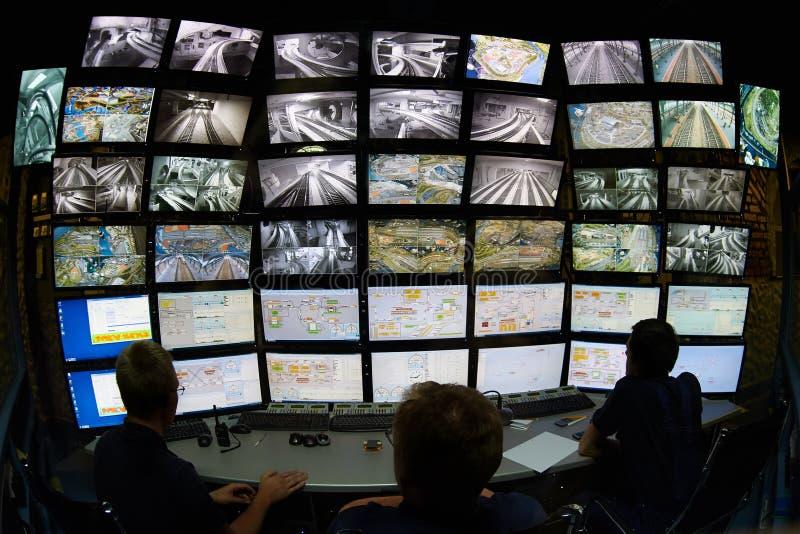 À télécommande avec des écrans image libre de droits