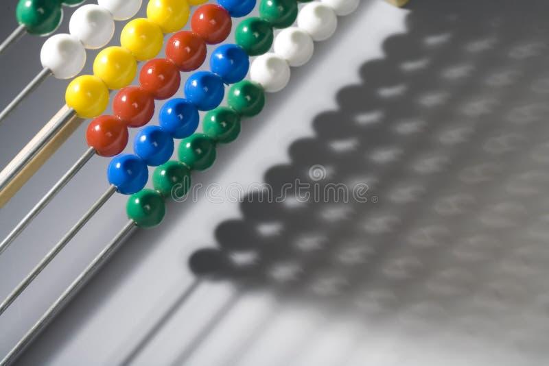 Ábaco Multicolour fotografia de stock
