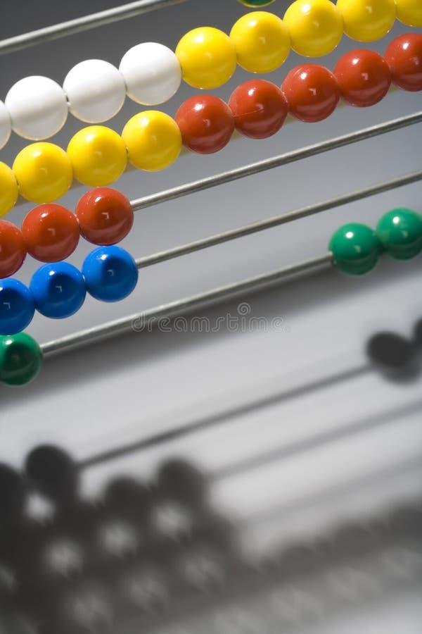 Ábaco Multicolour foto de stock royalty free