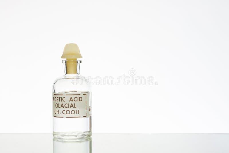 Ácido acético fotografía de archivo