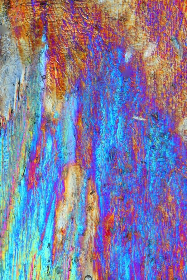 Ácido cítrico colorido imagen de archivo libre de regalías