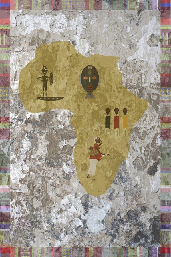 Download África ilustração stock. Ilustração de mash, continente - 16855653