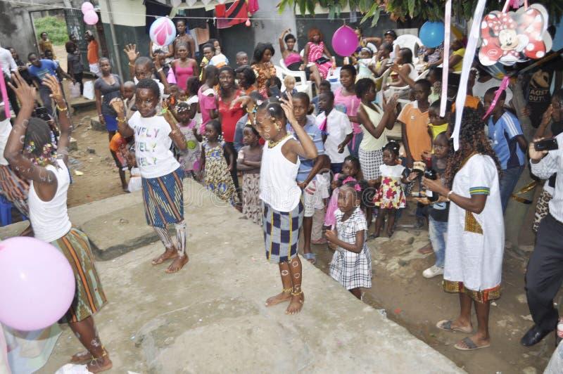 África comemora o dia do mundo da cultura africana fotografia de stock