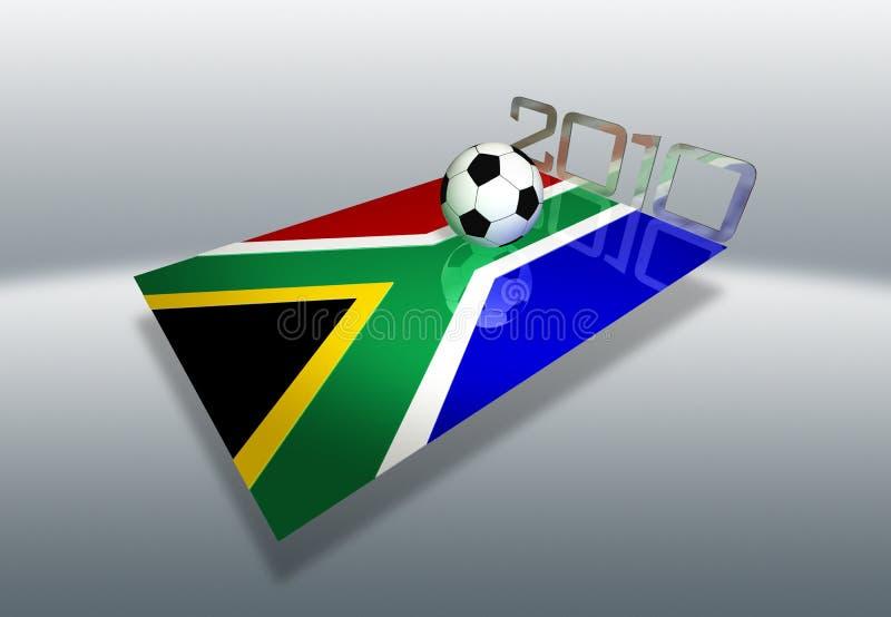 África do Sul 2010 ilustração do vetor