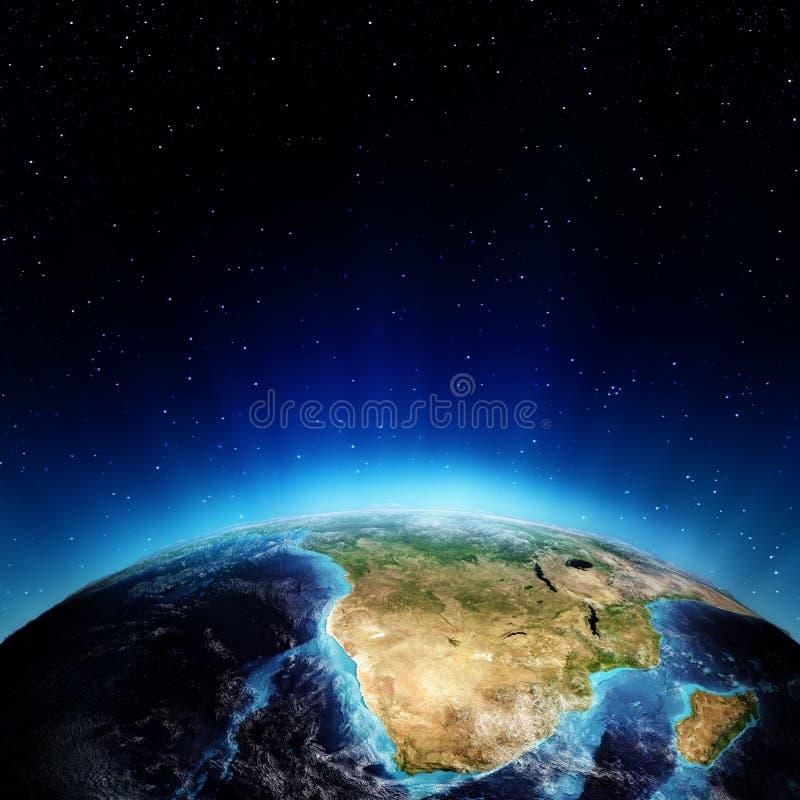 Download África do Sul e madagascar ilustração stock. Ilustração de noite - 29846376