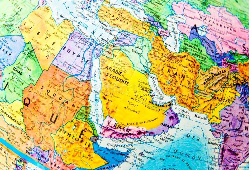 África e Eurasia imagem de stock