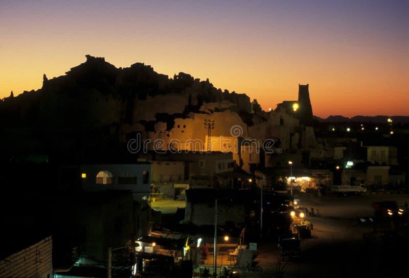 ÁFRICA EGIPTO SAHARA SIWA imagem de stock royalty free