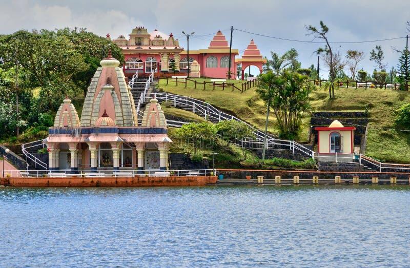 África, templo indio magnífico de Bassin en Mauritius Island fotografía de archivo