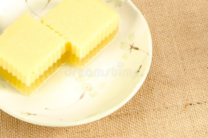 Ágar tailandês da sobremesa foto de stock