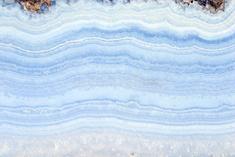 Ágata azul fotografía de archivo libre de regalías