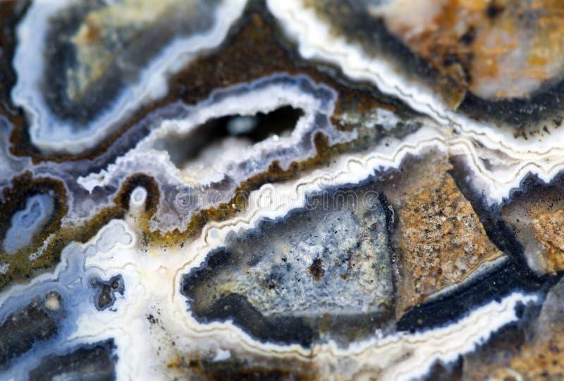 Ágata de la piedra de gema fotos de archivo