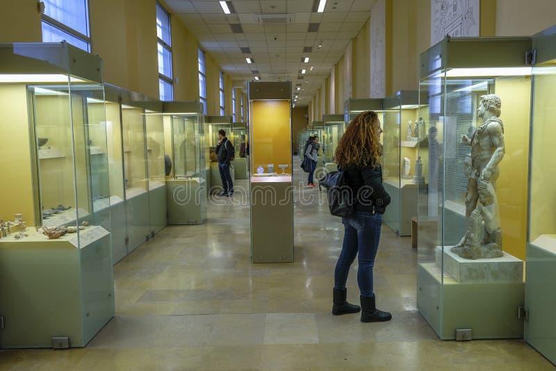 Ágora antiga em Atenas, Grécia fotografia de stock royalty free