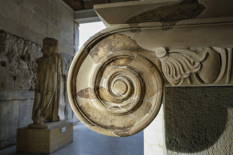 Ágora antiga em Atenas, Grécia imagem de stock