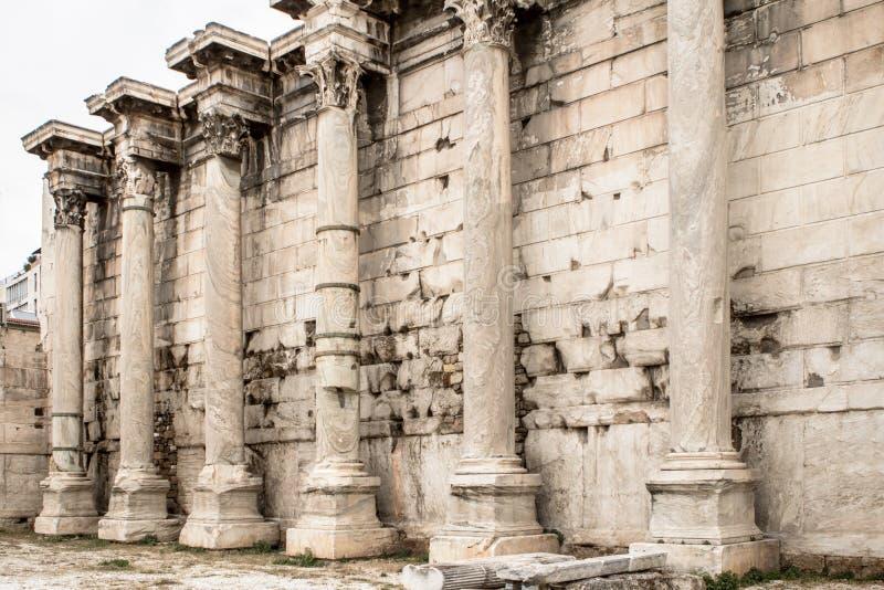 Ágora antiguo, Atenas, Grecia fotografía de archivo libre de regalías