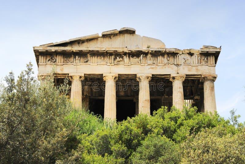 Ágora Velha Em Atenas Fotos de Stock