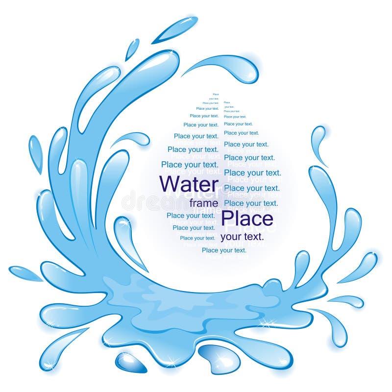 Água. ilustração royalty free