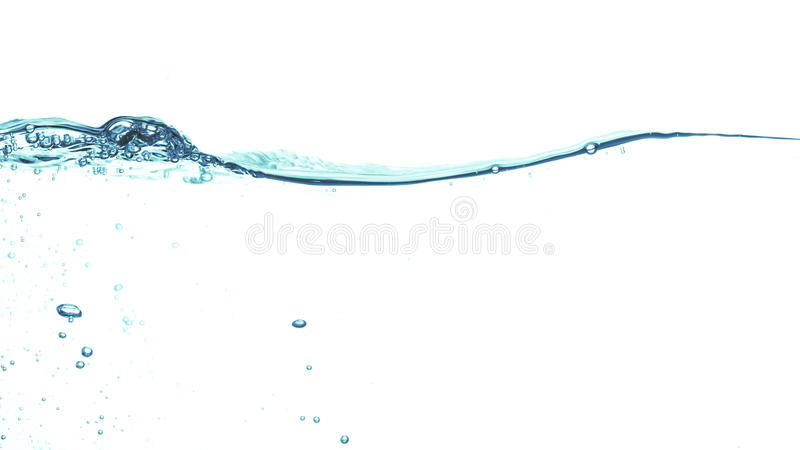 Água abstrata fotografia de stock royalty free