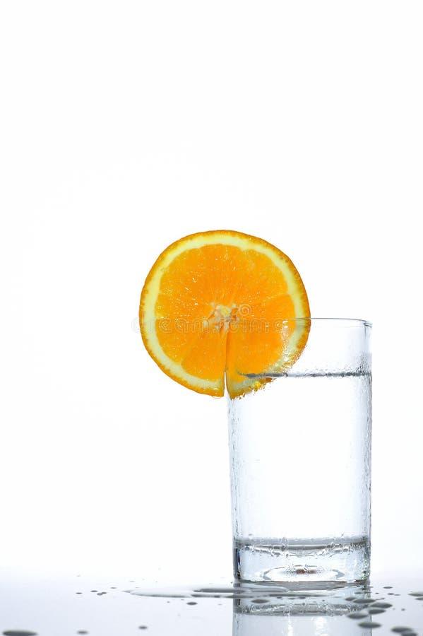 Download Água alaranjada foto de stock. Imagem de bebida, reflexão - 26513420
