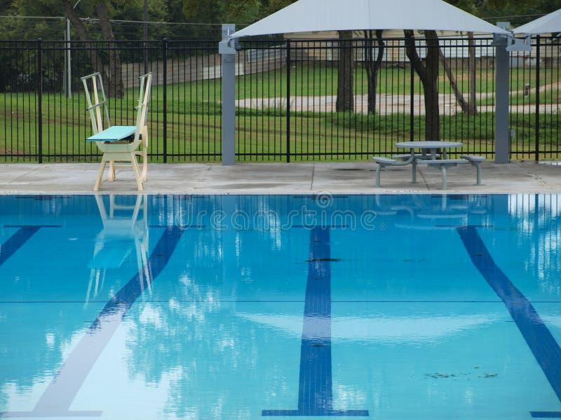 A água azul precisará de esperar uma mais estação imagens de stock royalty free