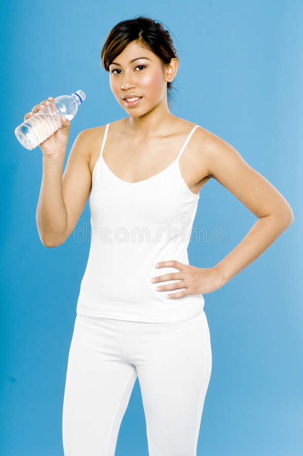 Água bebendo fotografia de stock royalty free