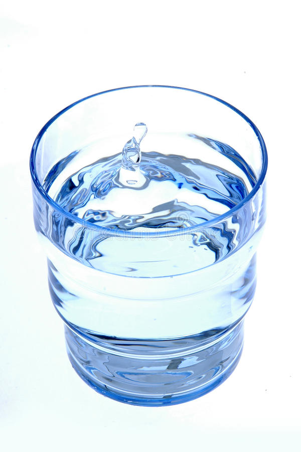 Água bebendo fresca foto de stock