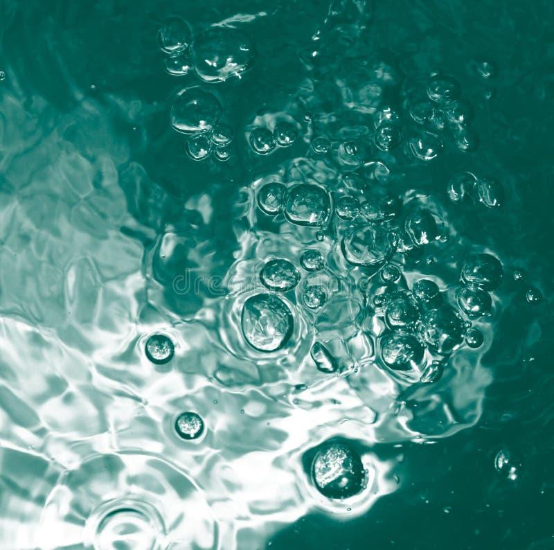 Água Blue-green_fs imagem de stock