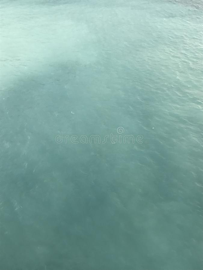 Água bonita do oceano imagem de stock