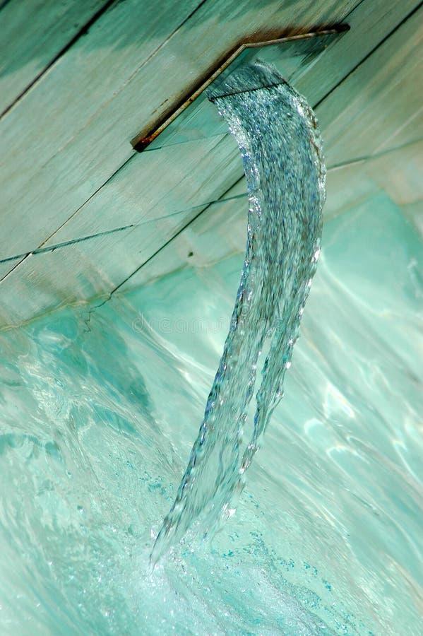 Água corrente imagens de stock
