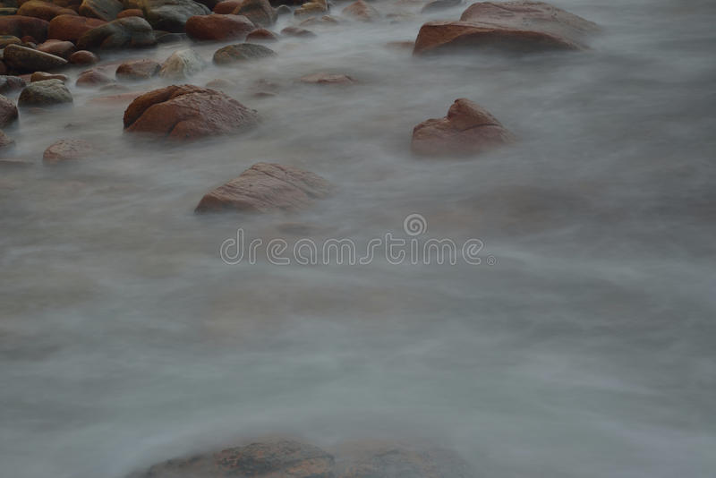 Água corrente fotografia de stock