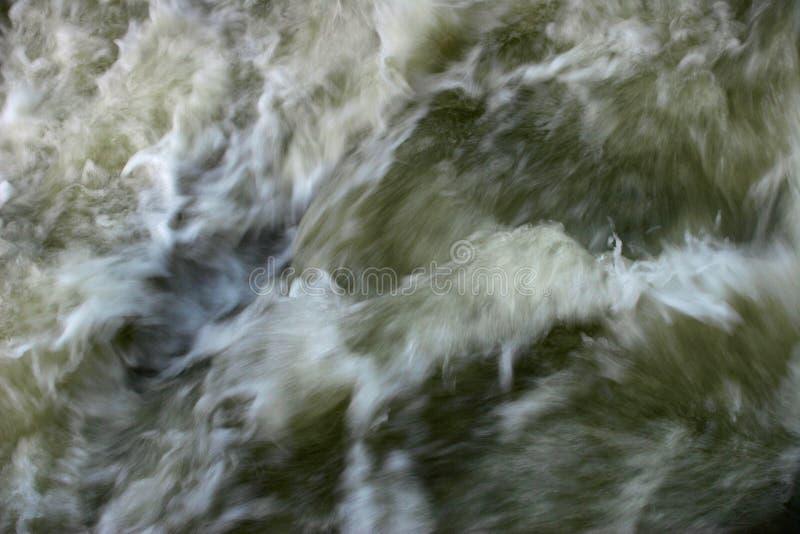 Água da enchente movente imagem de stock