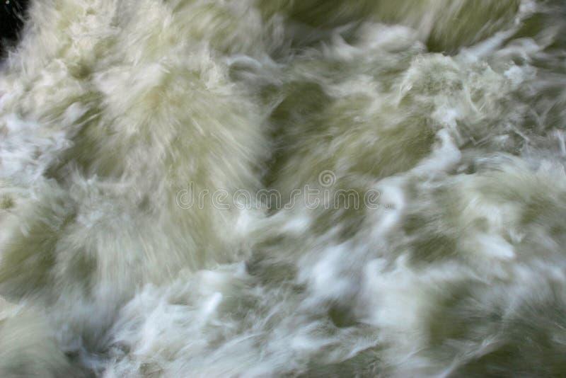 Água da enchente movente fotos de stock