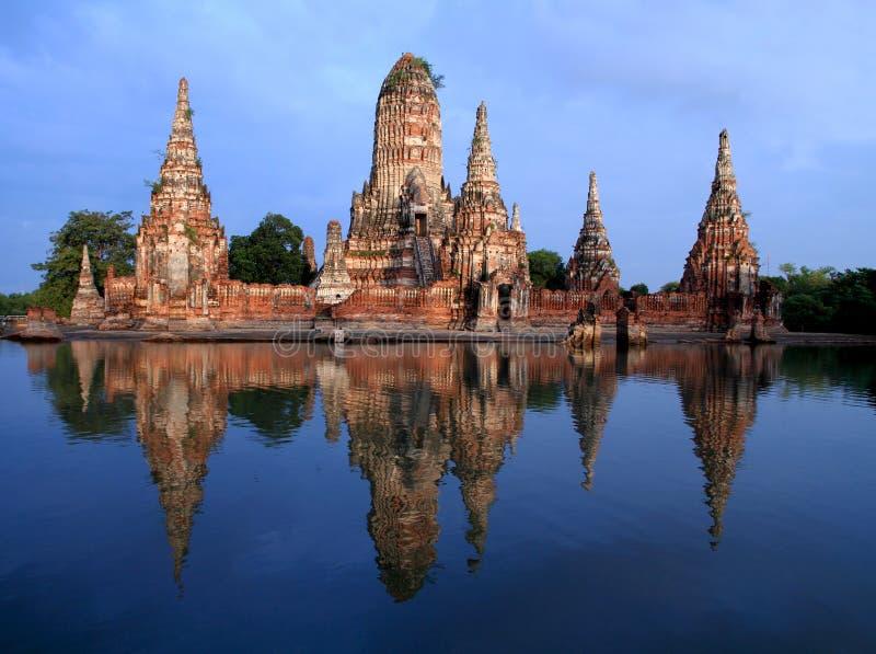 A ram de Wat Chai Wattana é templo em Tailândia. imagens de stock royalty free