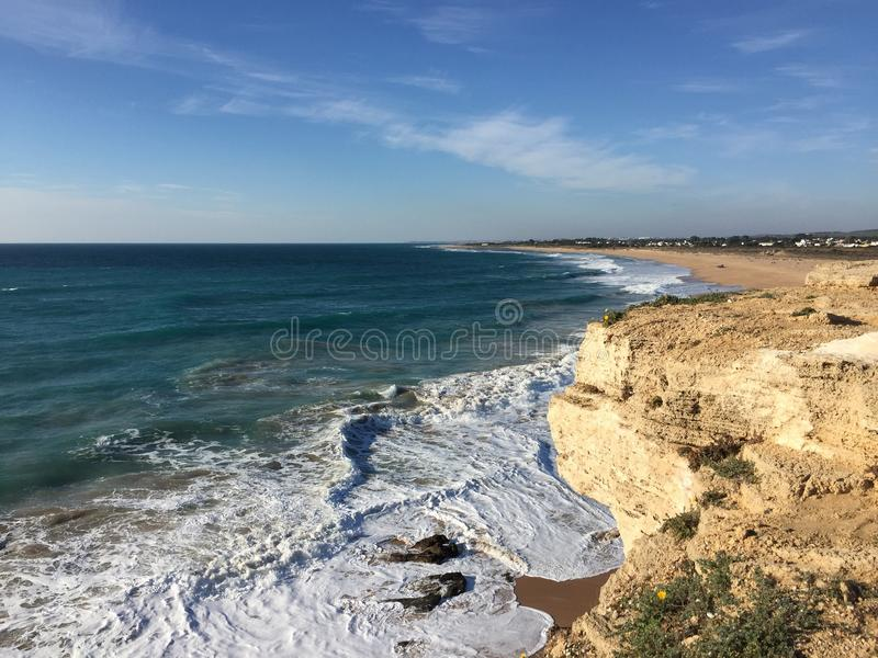 Água da praia imagem de stock