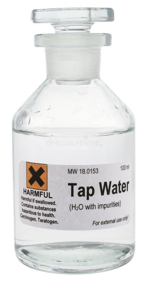 Água da torneira foto de stock