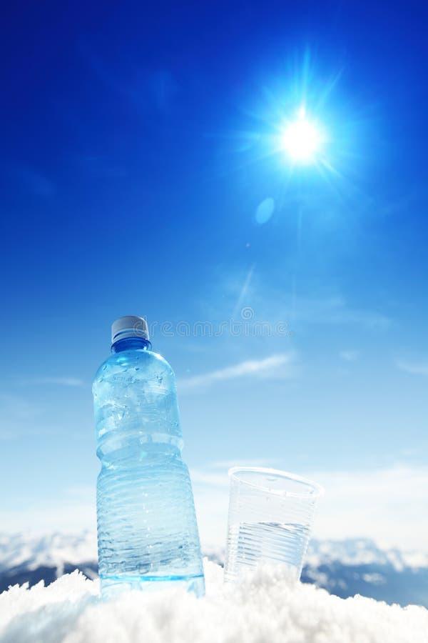Água de Alpen imagens de stock