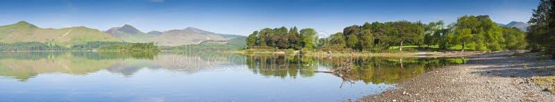 Água de Derwent, distrito do lago, Reino Unido imagens de stock royalty free