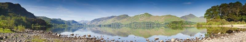 Água de Derwent, distrito do lago, Reino Unido fotografia de stock