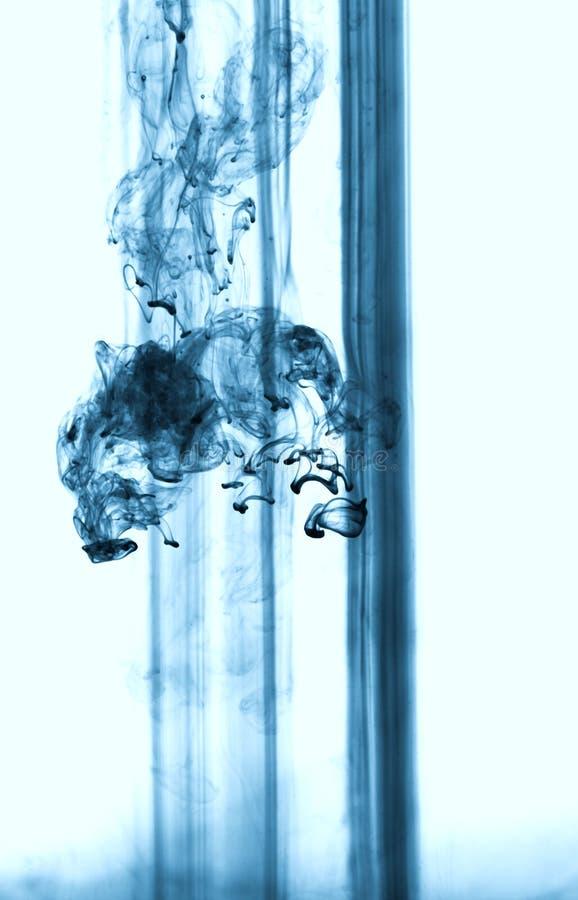 Água de flutuação abstrata da coloração foto de stock royalty free