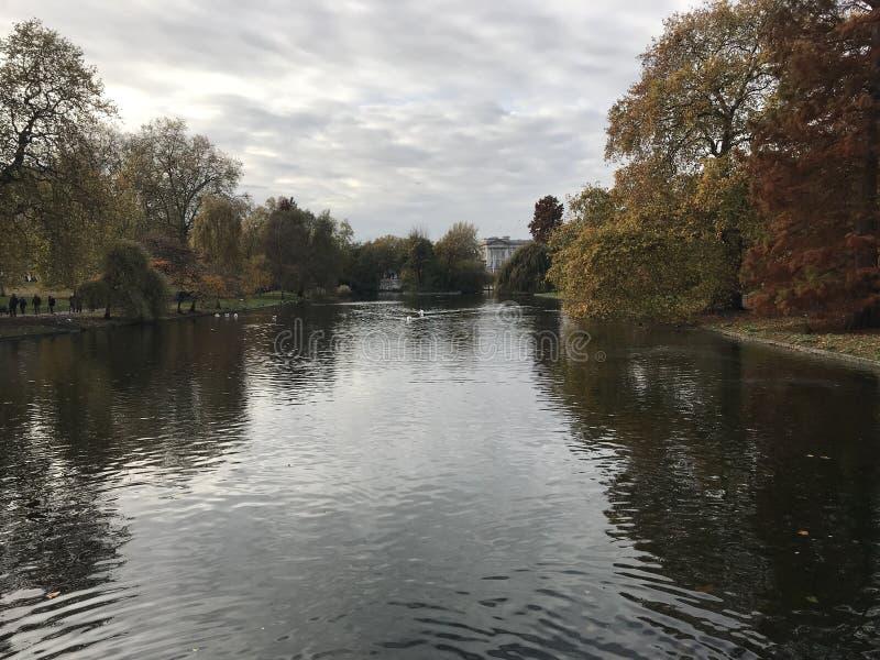 Água de Londres fotografia de stock
