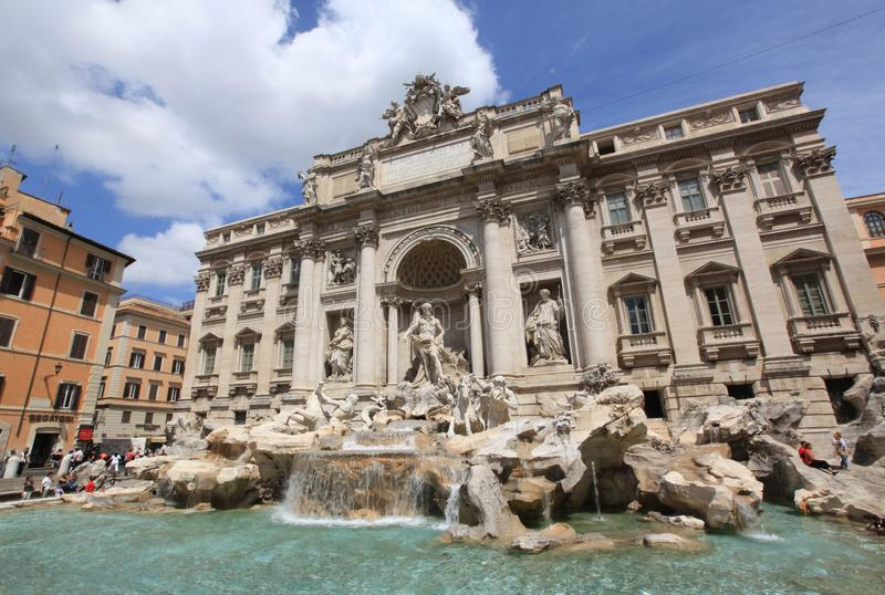 Água de mola romântica em Italia fotografia de stock royalty free