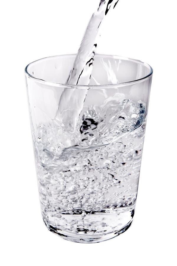 Água derramada foto de stock