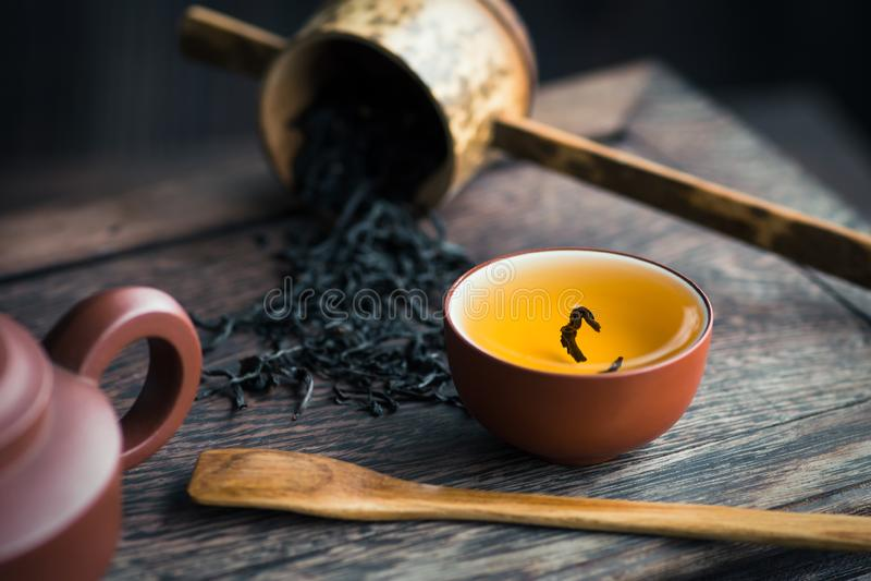 Água do chá foto de stock royalty free