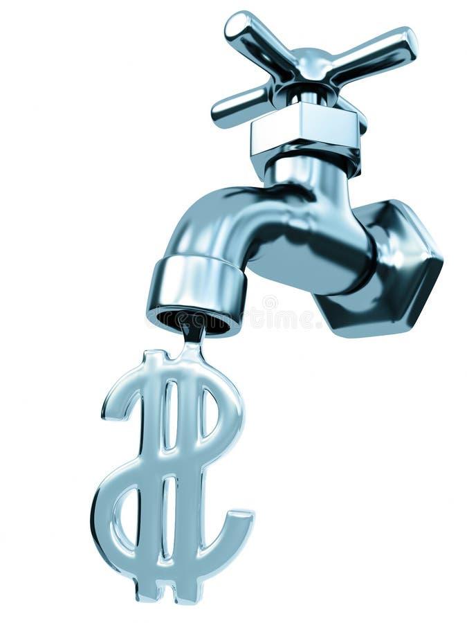 Água do Faucet ilustração do vetor