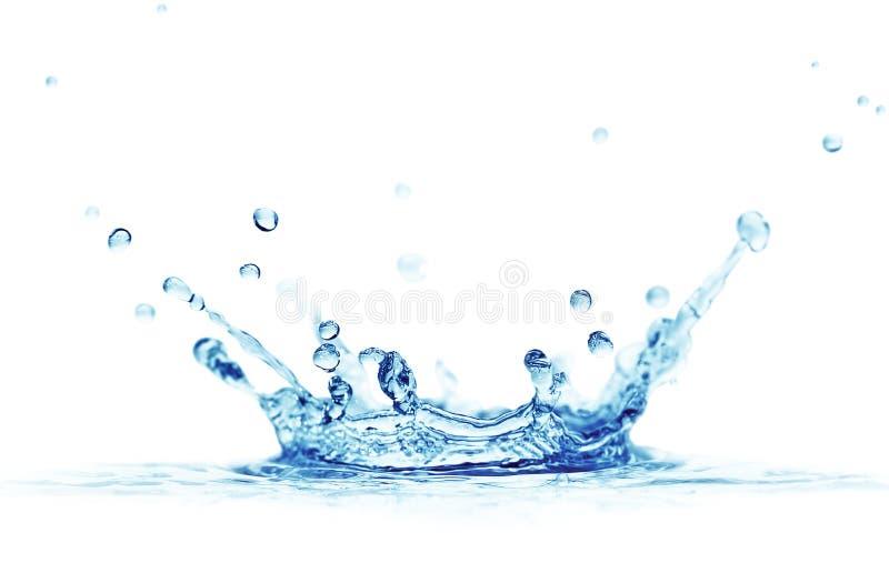 Água do respingo foto de stock royalty free