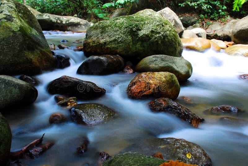 Água do rio fotografia de stock