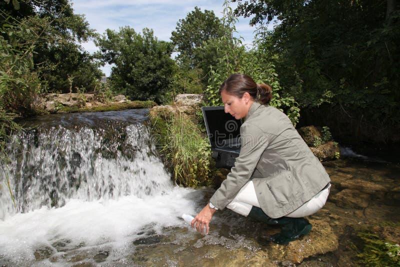 Água e ambiente foto de stock