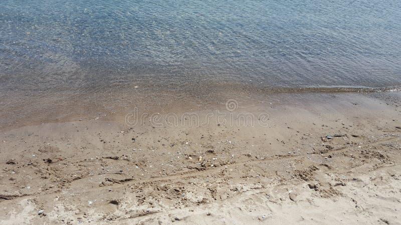 Água e terra fotos de stock royalty free