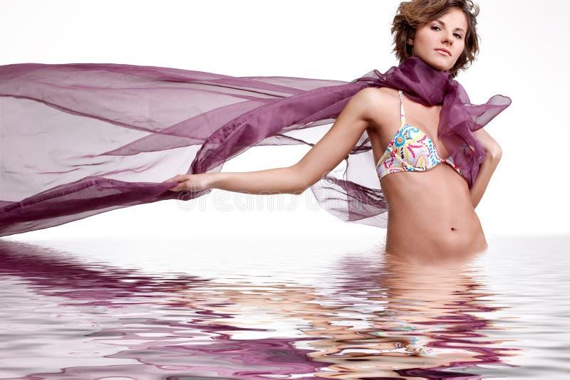 Água e vento. fotos de stock royalty free